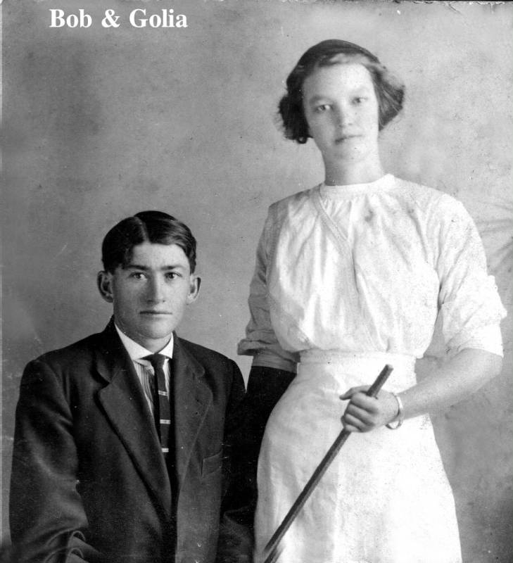 Bob and Golia Powell